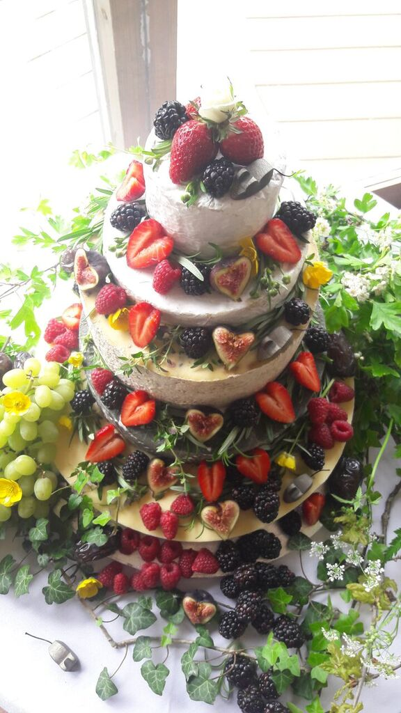 Summer Wedding - Blog - Summery Cheese Tower